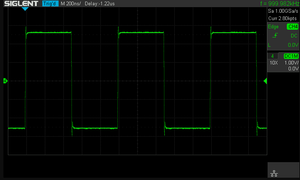 1 MHz square