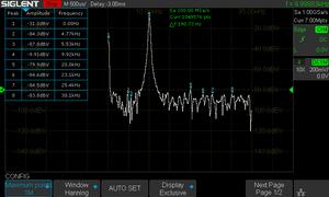 10 kHz sine at 1V FFT